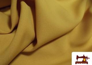 Comprar Tela color Ocre Strech Mostaza