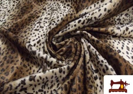 Comprar Tela de Leopardo