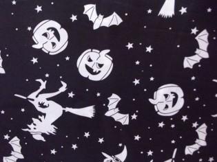 Comprar Tela de Halloween con Brujas y Calabazas