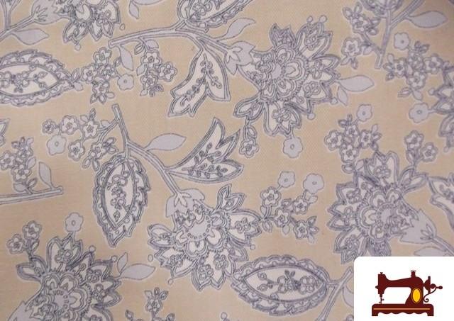 Comprar tela de viella estampado retro for Telas vintage