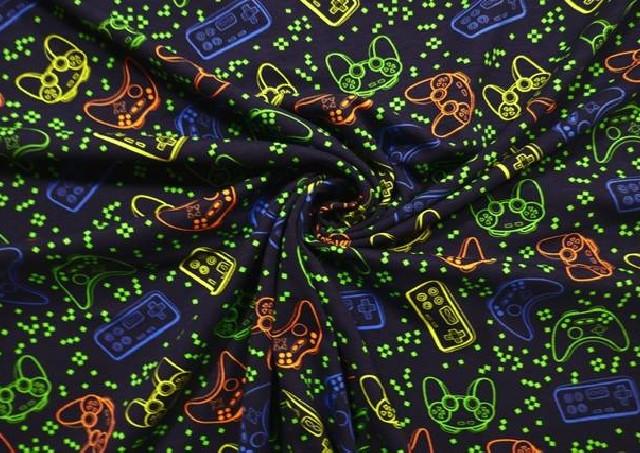 Venta de Punto de Camiseta Videojuegos Colores Flúor