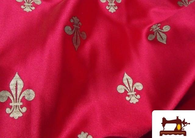 Comprar Tela Flor De Lis Para Disfraz Medieval