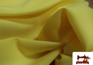 Tela de Carnaval Amarilla Strech