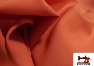Comprar Tela  Strech Burlington color Naranja