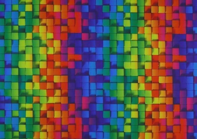 Comprar Tela de SOFTSHELL estampado Cuadros Multicolor