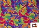 Comprar Lycra Estampada de Colores