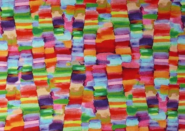 Comprar Punto de Viscosa Recuadros De Colores