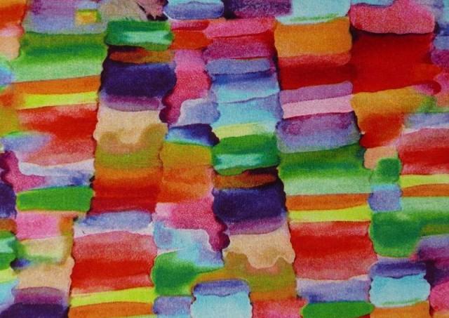 Venta online de Punto de Viscosa Recuadros De Colores