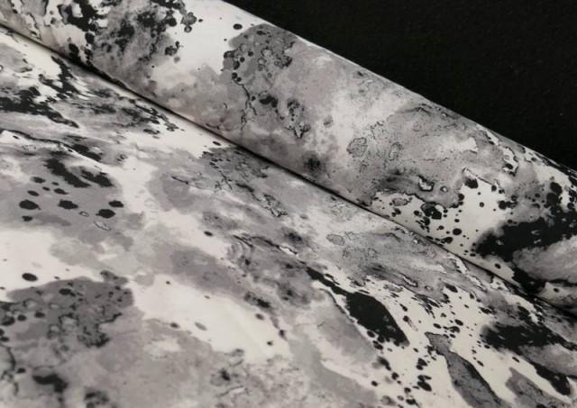 Tela de Viscosa Marmoleada