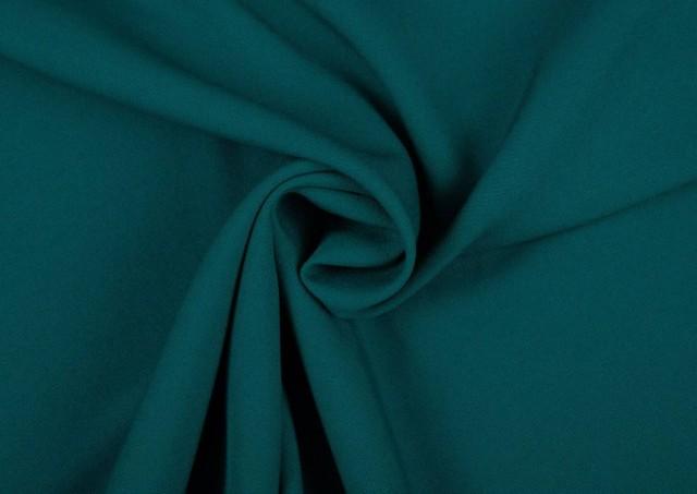 Venta de Tela de Crepe Koshibo de Colores color Verde Petróleo