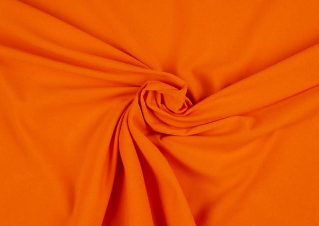 Tela de Crepe Koshibo de Colores color Naranja