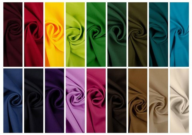 Comprar online Tela de Crepe Koshibo de Colores color Mostaza