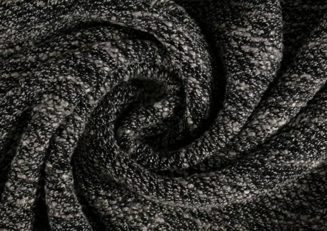 Venta online de Tela de Punto Jersey Vigore Viscosa color Negro