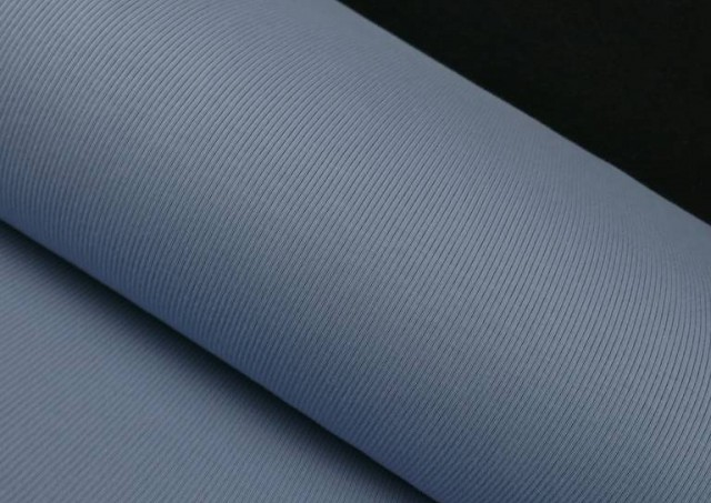 Comprar Tela de Tricot Punto Canalé - Jersey de Verano color Azul