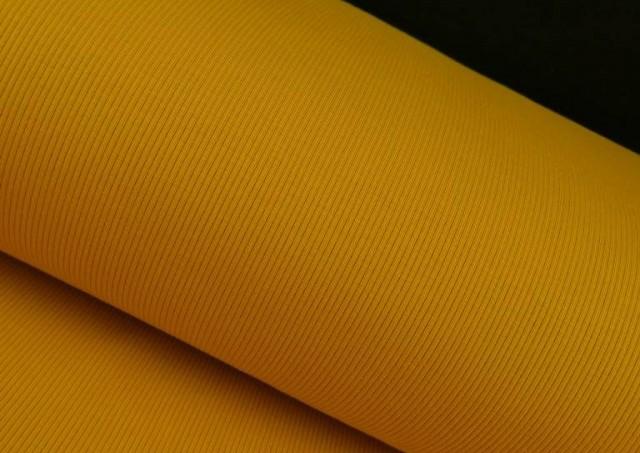 Comprar online Tela de Tricot Punto Canalé - Jersey de Verano color Mostaza