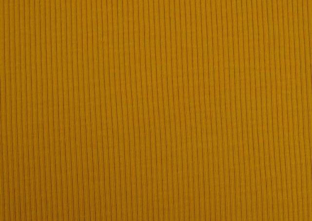 Venta online de Tela de Tricot Punto Canalé - Jersey de Verano color Mostaza
