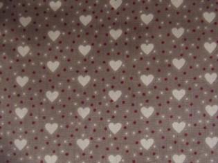 Comprar tela de Patchwork de corazones
