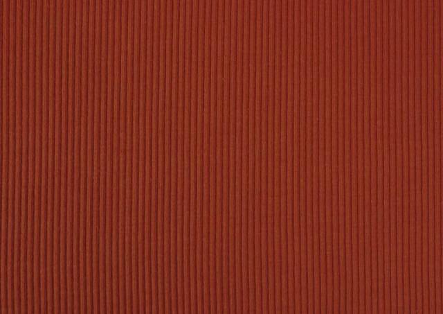 Venta de Tela de Tricot Punto Canalé - Jersey de Verano color Teja