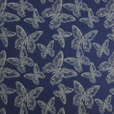 Tela Tejana Estampado Mariposas