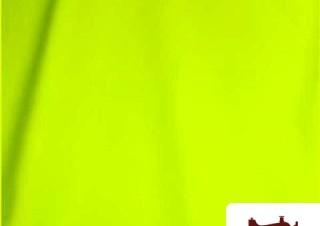 Tela de Licra Color Amarillo Fluor
