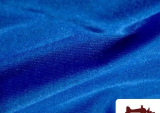 Comprar Tela de Licra color Azul Electrico