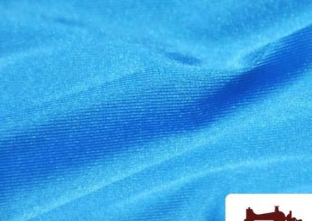 Tela de Licra Color Azul Turquesa