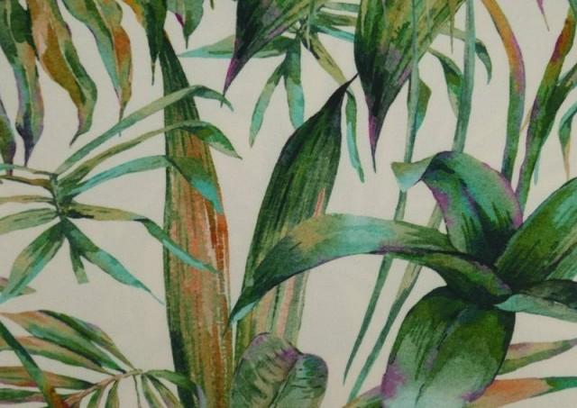 Comprar Tela Crespón con Lycra Tropical color Verde