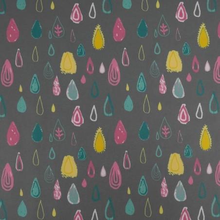 Venta de Tela de Softshell Estampado Gotas de Colores