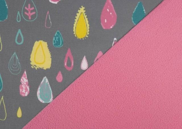 Comprar online Tela de Softshell Estampado Gotas de Colores