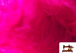 Comprar Tela de pelo largo Rosa Fuxia