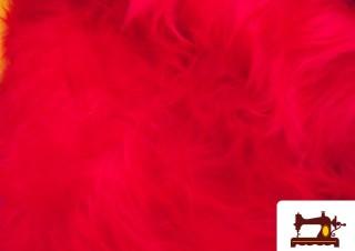 Comprar Tela de Pelo Largo Rojo de Fantasia