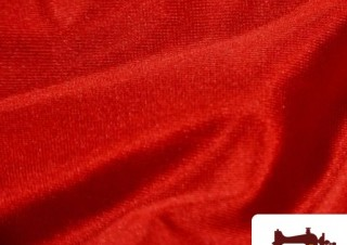 Tela Roja de Sudadera