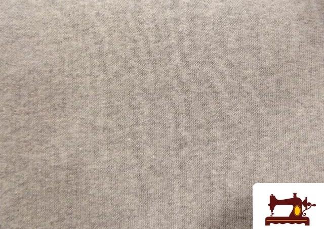 Comprar Tela Sudadera Chandal gris medio mezcla