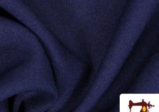 Tela de Sudadera Azul Marino
