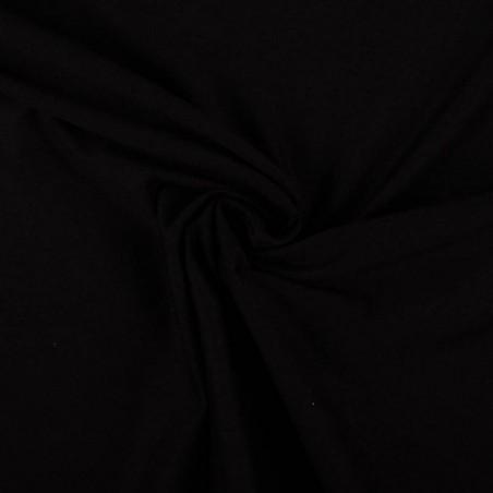 Venta de Entretela de Punto Blanco / Negro color Negro