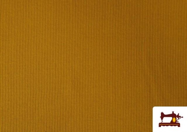 Tela de Puño Canale de Colores color Mostaza