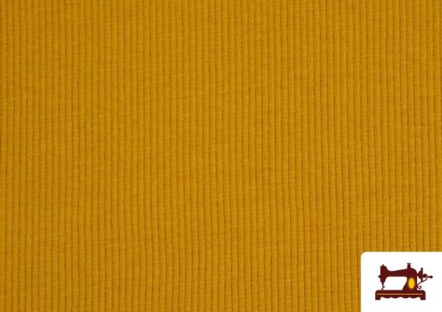 Comprar Tela de Puño Canale de Colores color Mostaza