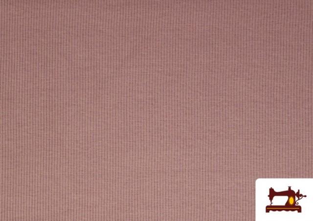 Tela de Puño Canale de Colores color Rosa pálido