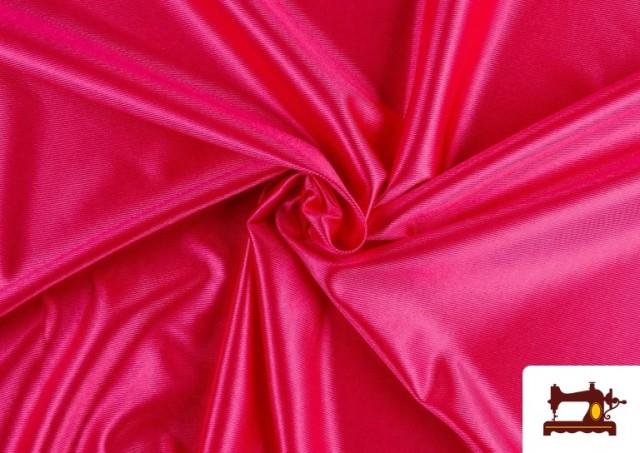 Comprar online Tela de Foam de Rasete con Espuma color Fucsia