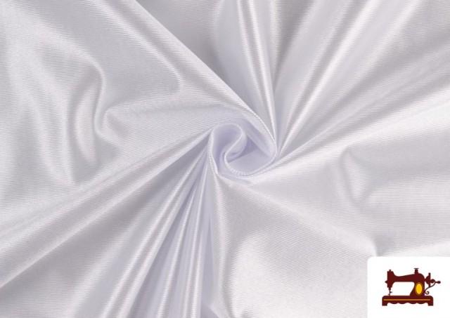 Comprar online Tela de Foam de Rasete con Espuma color Blanco