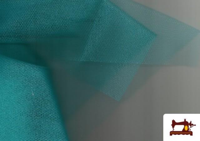 Comprar online Tela de Tul para Eventos y Decoración color Verde mar