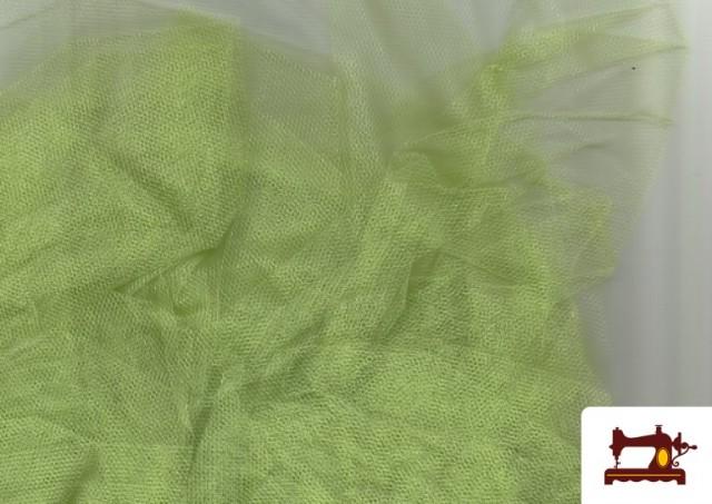 Venta de Tela de Tul para Eventos y Decoración color Pistacho