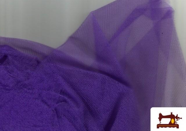 Venta online de Tela de Tul para Eventos y Decoración color Morado