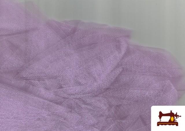 Tela de Tul para Eventos y Decoración color Lila