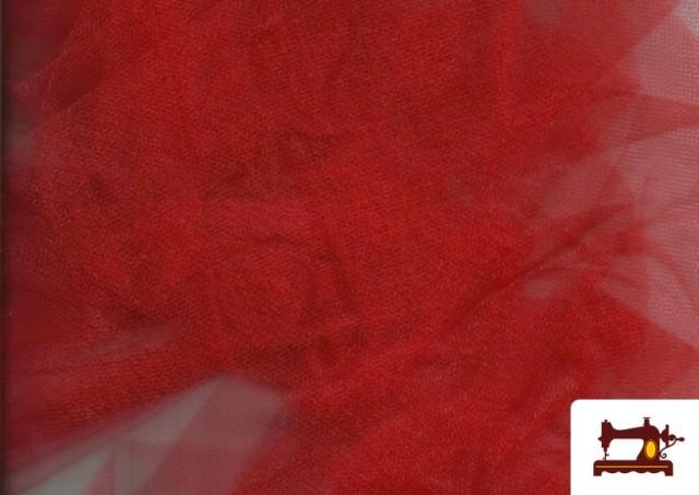 Comprar Tela de Tul para Eventos y Decoración color Rojo
