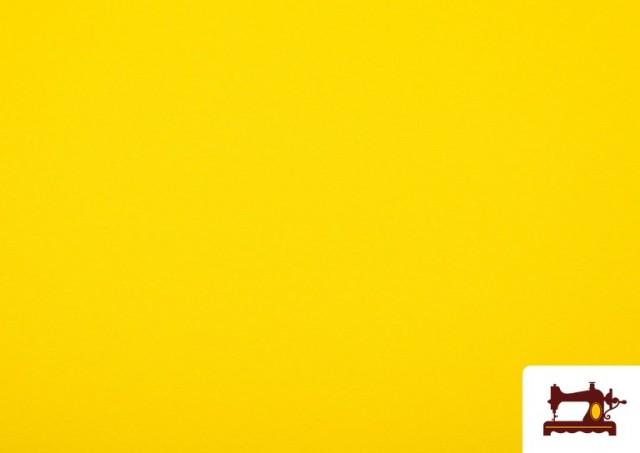 Tela Plana Stretch Economica Multicolor, Negro, Blanco +16 Colores color Amarillo