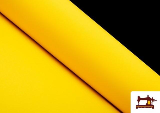Comprar Tela Plana Stretch Economica Multicolor, Negro, Blanco +16 Colores color Amarillo