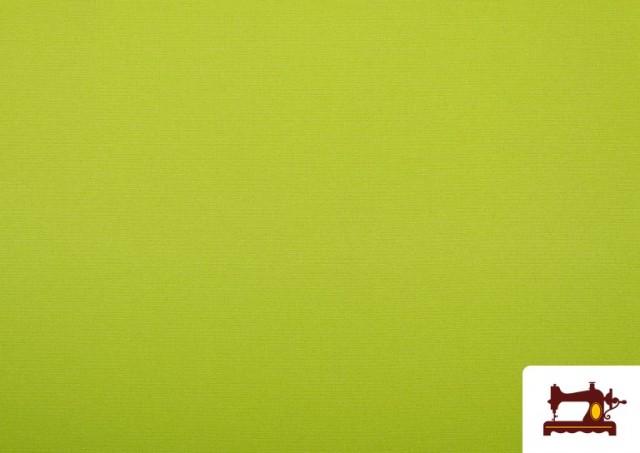Venta de Tela Plana Stretch Economica Multicolor, Negro, Blanco +16 Colores color Pistacho