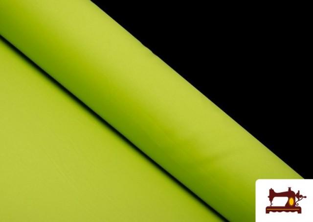Venta online de Tela Plana Stretch Economica Multicolor, Negro, Blanco +16 Colores color Pistacho
