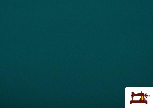 Venta online de Tela Plana Stretch Economica Multicolor, Negro, Blanco +16 Colores color Verde Petróleo